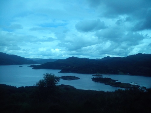Kyles of Bute - Ainsley's view